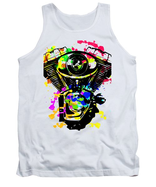 Harley Davidson Pop Art 5 Tank Top