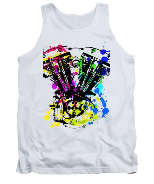 Harley Davidson Pop Art 4 Tank Top