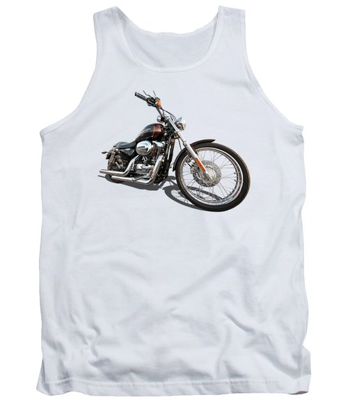 Harley Sportster Xl1200 Custom Tank Top by Gill Billington