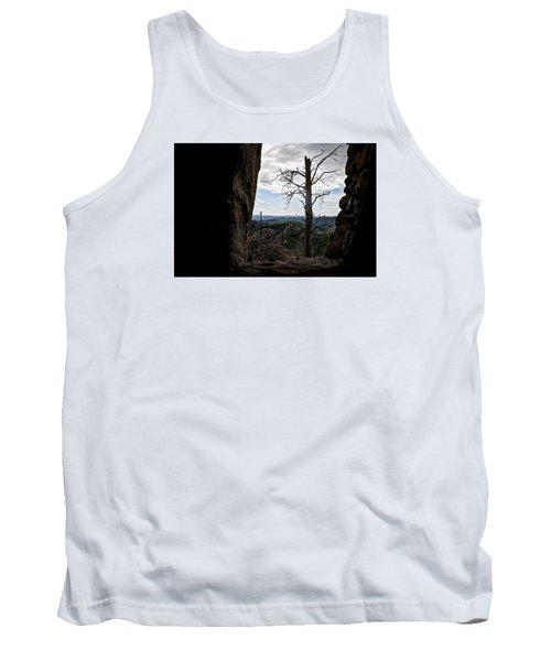 Tank Top featuring the photograph Harney Peak Lookout by Deborah Klubertanz