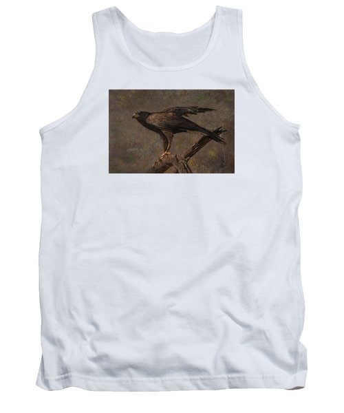 Tank Top featuring the photograph Harris's Hawk by Barbara Manis