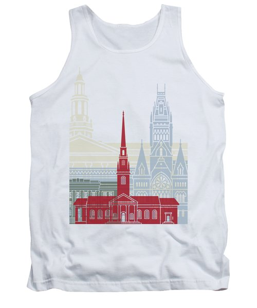 Harvard Skyline Poster Tank Top