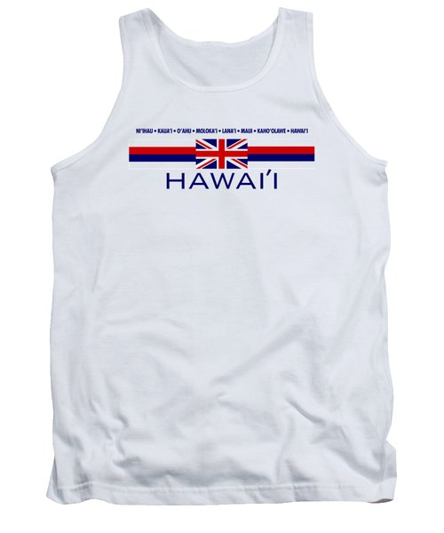 Hawai'i Tank Top by Jim Pavelle