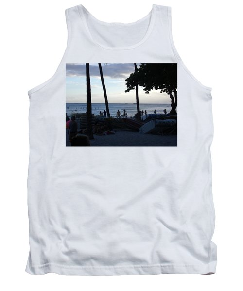 Hawaiian Afternoon Tank Top