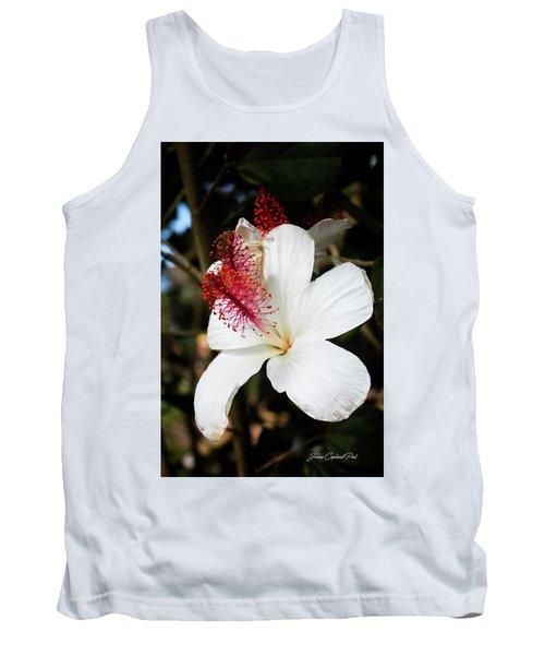 Tank Top featuring the photograph Hawaiian Hibiscus  by Joann Copeland-Paul