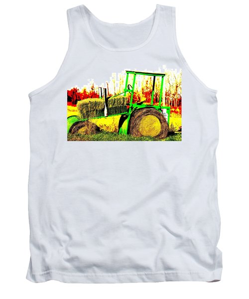 Hay It's A Tractor Tank Top