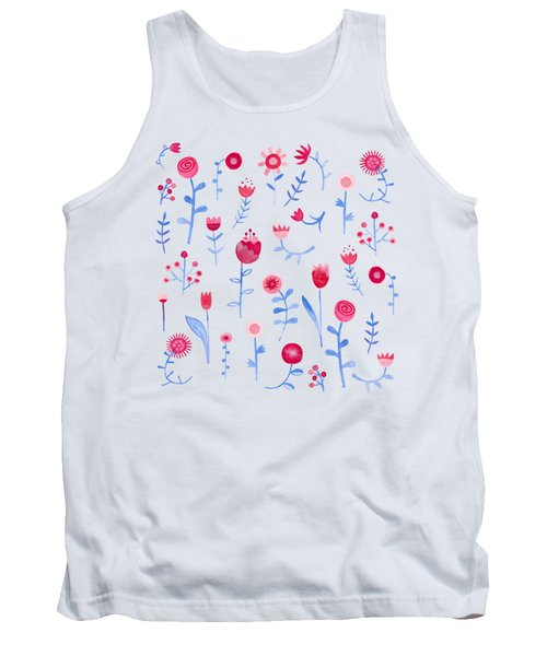 Hayfever Tank Top by Nic Squirrell