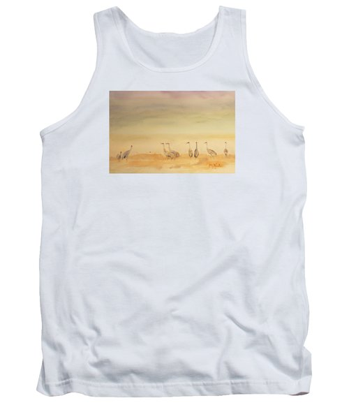 Hazy Days Cranes Tank Top