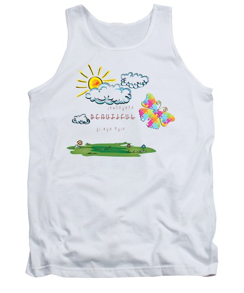 He Did Everything Beautiful In His Time Ecclesiastes 3 11 Tank Top
