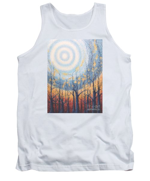 Tank Top featuring the painting He Lights The Way In The Darkness by Holly Carmichael