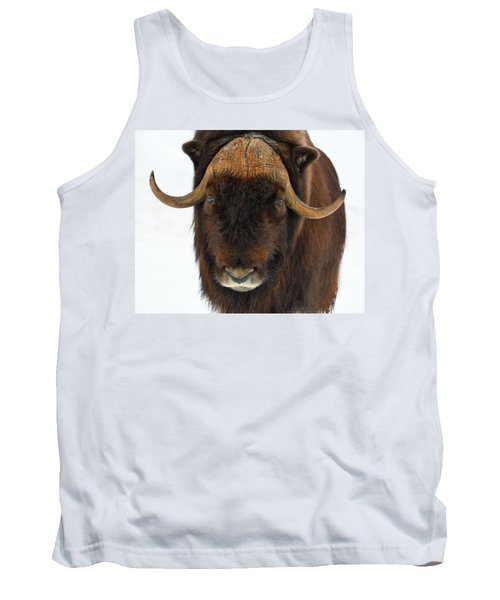 Tank Top featuring the photograph Head Butt by Tony Beck