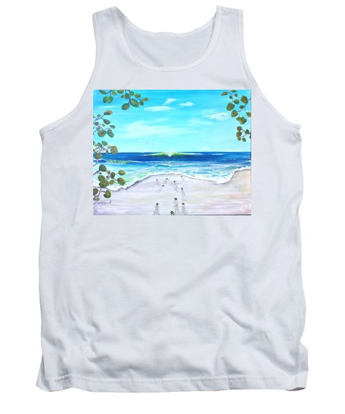 Headed Home Tank Top by Dawn Harrell