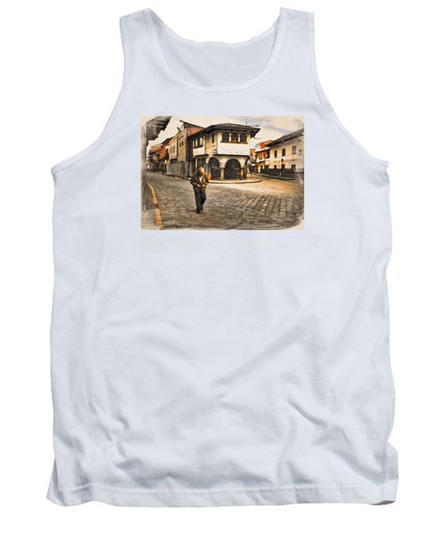 Heading Home Alone Tank Top