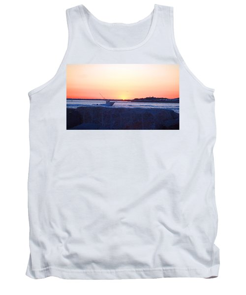 Tank Top featuring the photograph Heading Out by  Newwwman