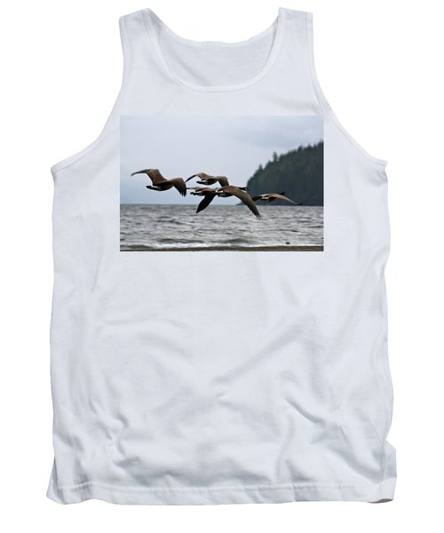 Tank Top featuring the photograph Heading South by Cathie Douglas