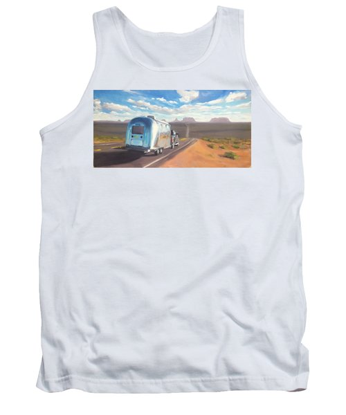 Heading South Towards Monument Valley Tank Top