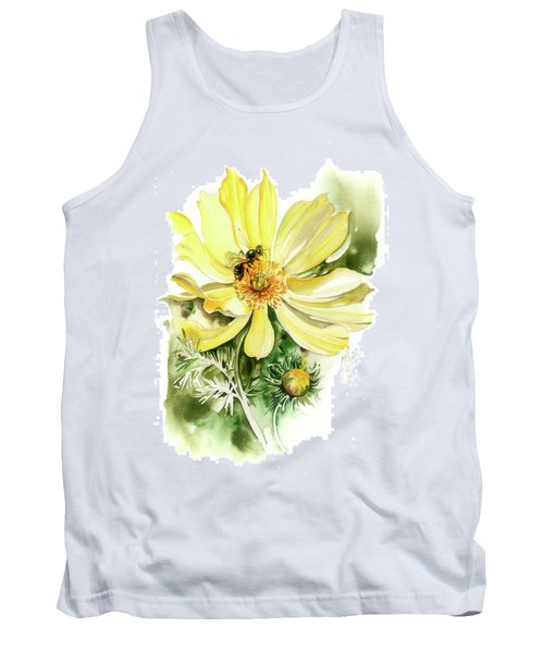 Tank Top featuring the painting Healing Your Heart by Anna Ewa Miarczynska