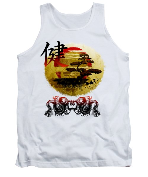 Tank Top featuring the photograph Health Oriental Symbol by Robert G Kernodle