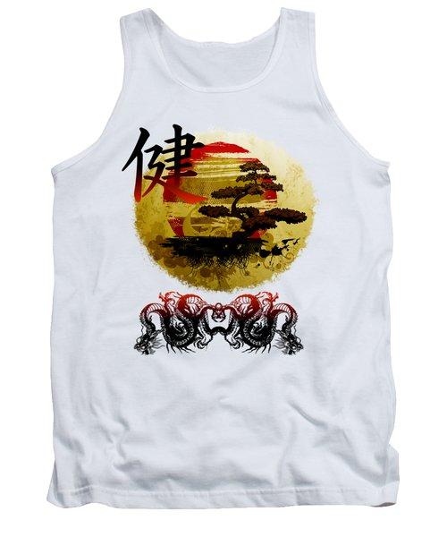 Health Oriental Symbol Tank Top