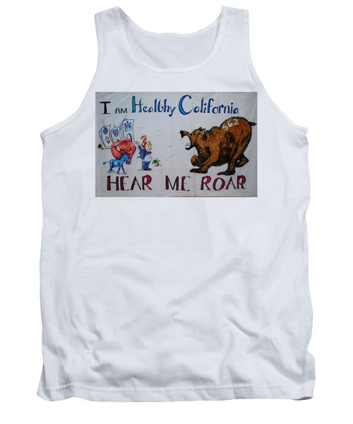 Hear Me Roar Tank Top