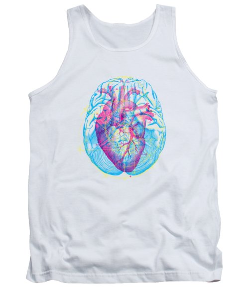 Heart Brain Tank Top