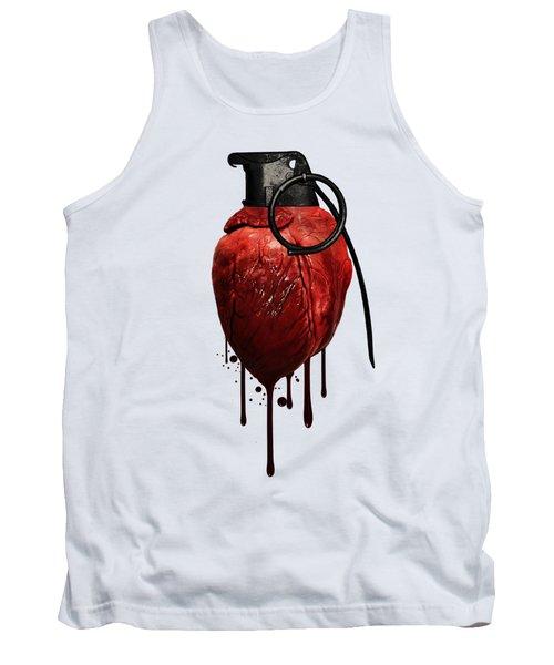 Heart Grenade Tank Top