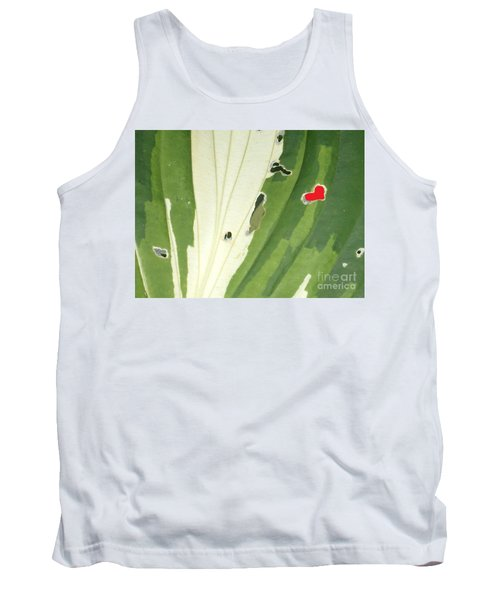 Heart In Nature Tank Top