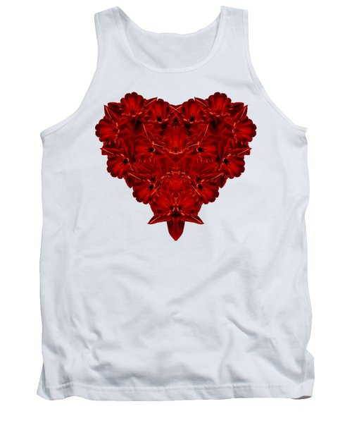 Heart Of Flowers T-shirt Tank Top