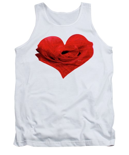 Heart Sketch Tank Top by Rafael Salazar