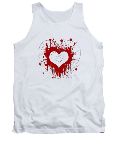 Hearts Graphic 1 Tank Top
