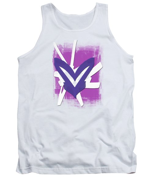Hearts Graphic 3 Tank Top