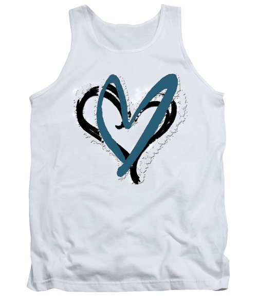 Hearts Graphic 8 Tank Top
