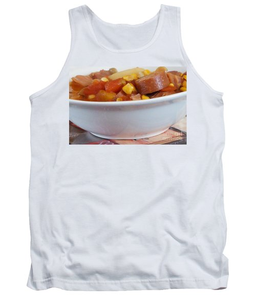 Hearty Ham, Smoked Sausage And Vegetable Soup Tank Top