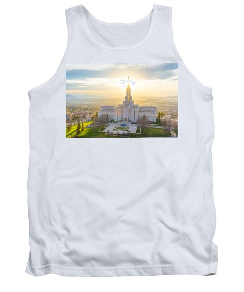 Tank Top featuring the photograph Heavenly Glow by Dustin  LeFevre