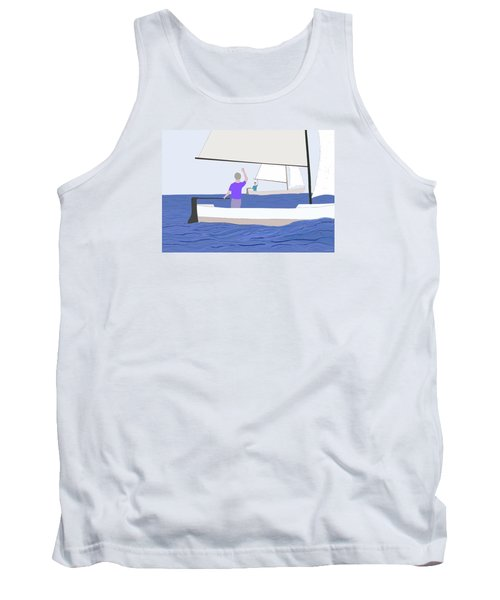 Hello Old Friend Tank Top by Fred Jinkins
