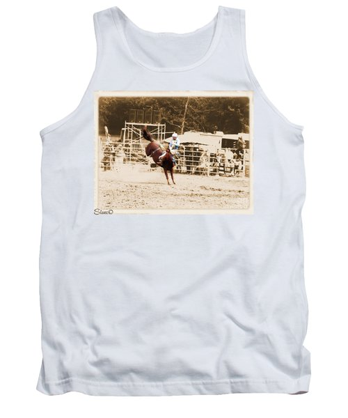 Helluva Rodeo-the Ride 3 Tank Top