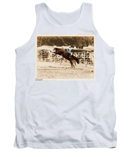 Helluva Rodeo-the Ride 4 Tank Top