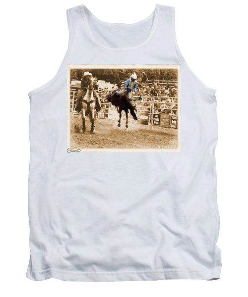 Helluva Rodeo-the Ride 5 Tank Top