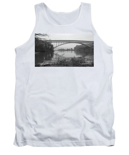 Tank Top featuring the photograph Henry Hudson Bridge  by Cole Thompson