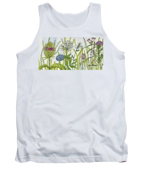 Herbs And Flowers Tank Top