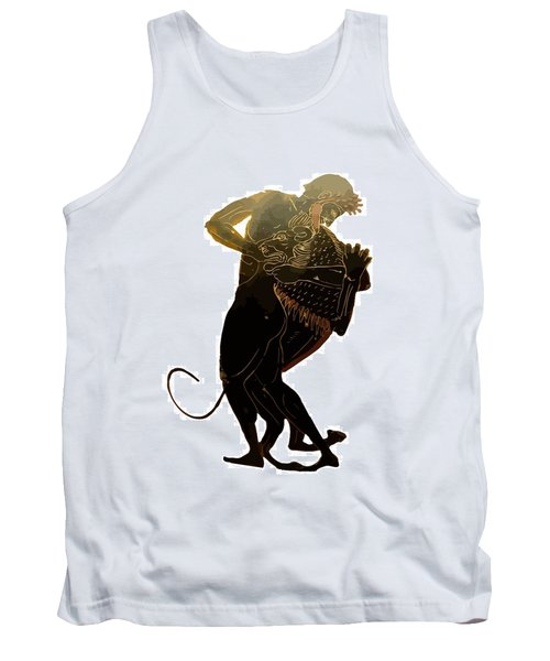 Hercules And The Nemean Lion Tank Top