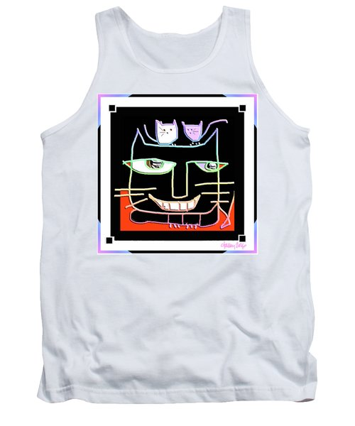 Here,  Kitty Kitty Tank Top