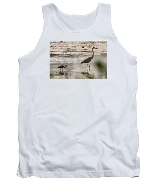 Heron And Ibis Tank Top