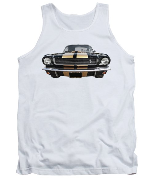 Tank Top featuring the photograph Hertz Rent A Racer Mustang 1966 by Gill Billington