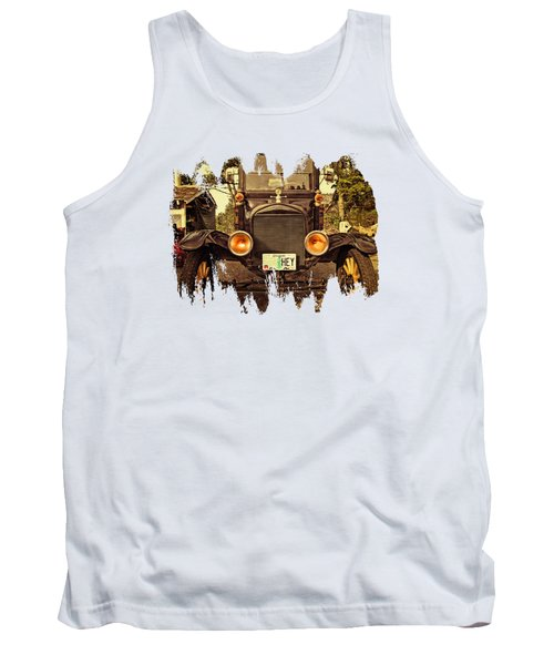 Hey A Model T Ford Truck Tank Top
