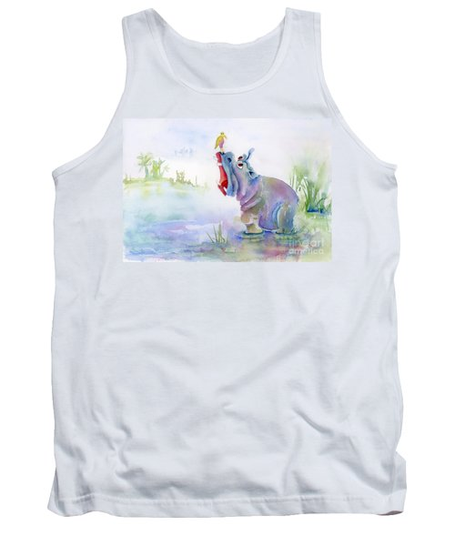 Hey Whats The Big Idea Tank Top by Amy Kirkpatrick