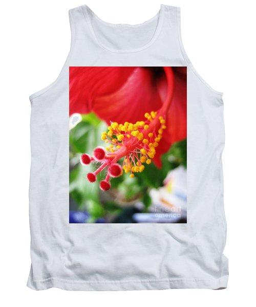 Hibiscus #3 Tank Top