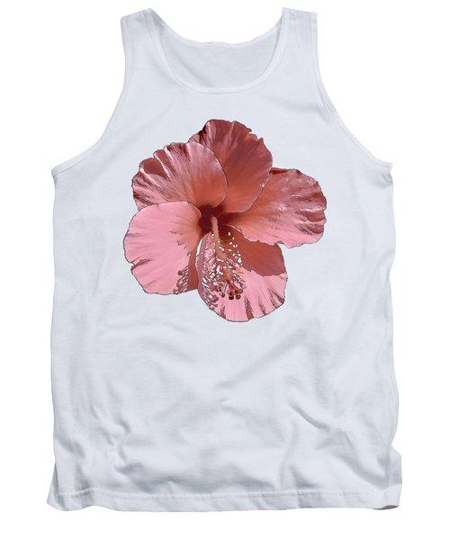 Hibiscus  Flower  Tank Top