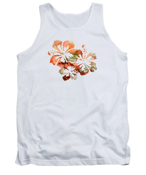 Hibiscus Flowers Tank Top by Art Spectrum