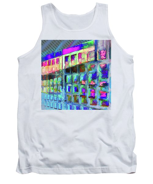 Tank Top featuring the digital art Hide And Seek by Wendy J St Christopher